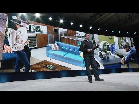 Vision Summit 2017 Keynote - Microsoft HoloLens, ScopeAR, Protospace Demo by NASA JPL [6/10]