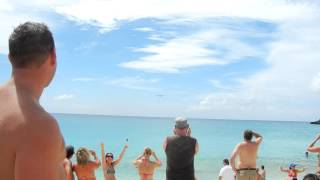 St. Martin Princess Juliana Airport runway beach.MOV http://bit.ly/applyforcreditcardstoday
