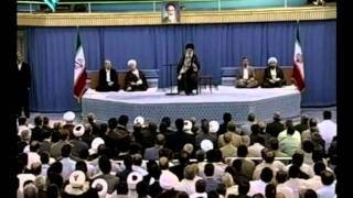 Seyed Ali Khamenei Meets Government Officials on the Day of Mab