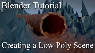Blender Tutorial - Creating a Low Poly Scene