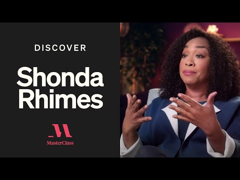How To Write A Tv Pilot With Shonda Rhimes Discover Masterclass Masterclass Youtube