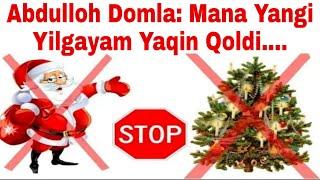 Abdulloh Domla: Mana Yangi Yilgayam Yaqin Qoldi.... | Абдуллох Домла: Мана Янги Йилгаям Оз Колди....