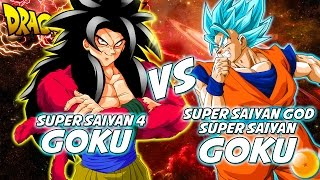 Dragonball z: what if battle - ssgss goku vs ssj4 goku