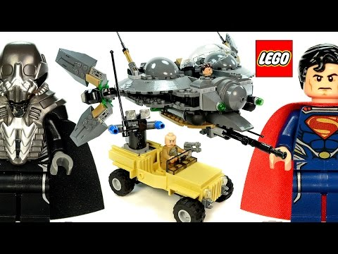 LEGO® Superman: Battle of Smallville 76003 DC Comics Super Heroes Speed Build