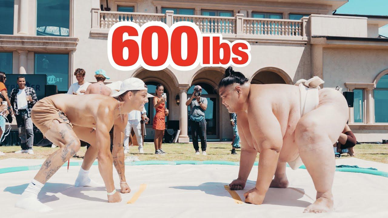 I BEAT A 600 POUND MAN!!!