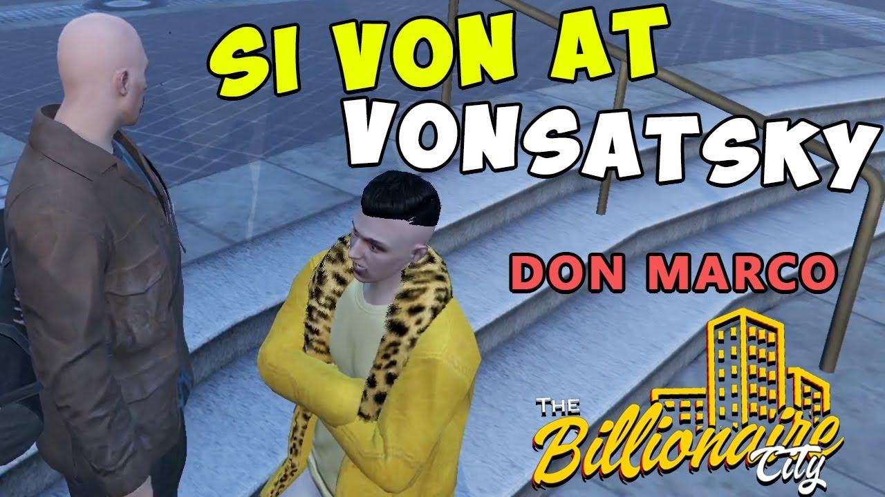 GTA V | ANG TOTOONG VON, ANDITO NA !(The Billionaire City)(PART 4)