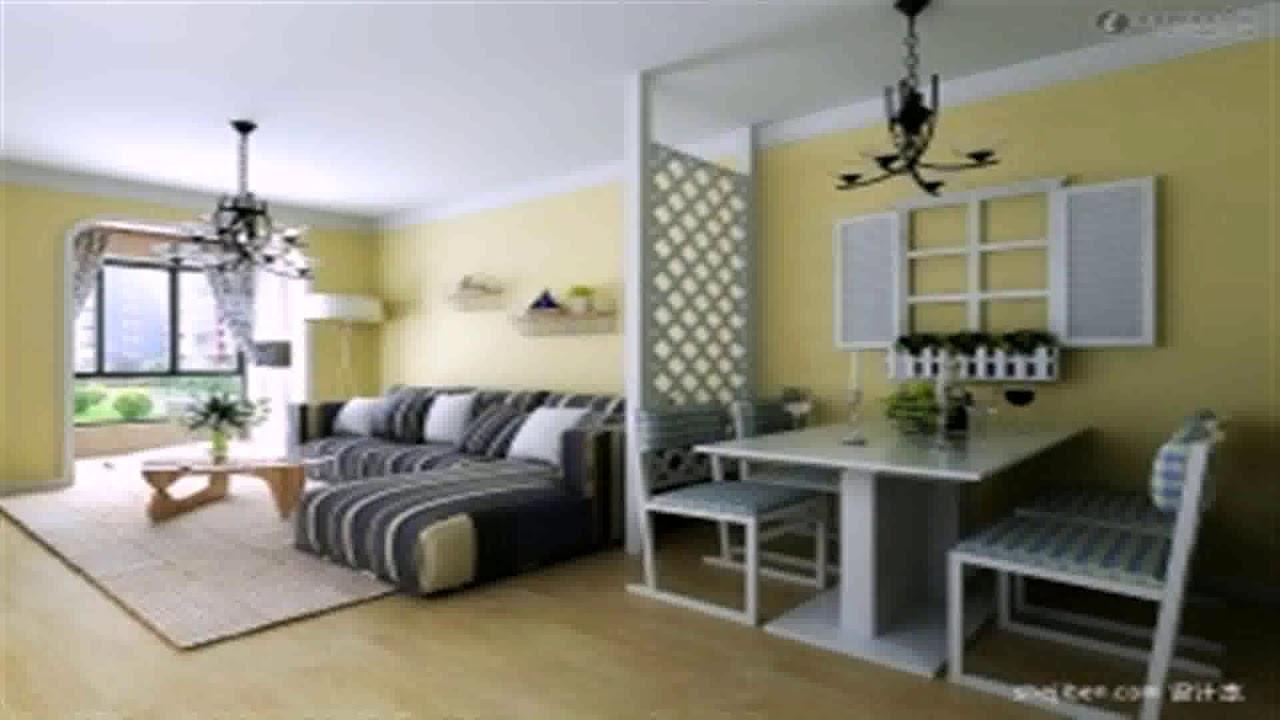 Living Room Dining Room Divider Design Daddygif Com See Description Youtube