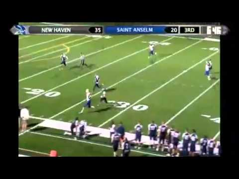 New Haven Football | Michael Flacco One-Handed Catch