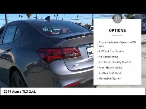 2019 Acura TLX 2.4L Technology Pkg w/A-Spec Pkg New 19A0150