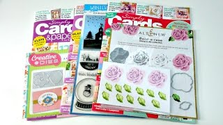 Revistas_ Simply Card and Papercraft + Sellos de Altenew | Mundo@Party