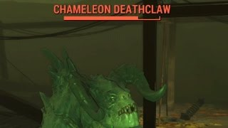 Fallout 4 - Where To Find Chameleon Deathclaws (Location Of Chameleon Deathclaws)