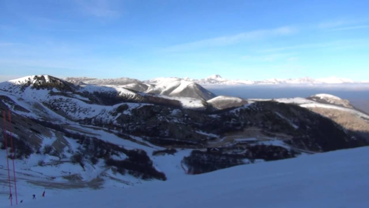 Video della  sciata sulle piste di
