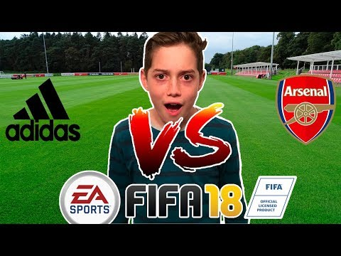 FIFA 18 (PS4 Pro) - Fifa Kids Video Challenge *Adidas All Star VS Arsenal*