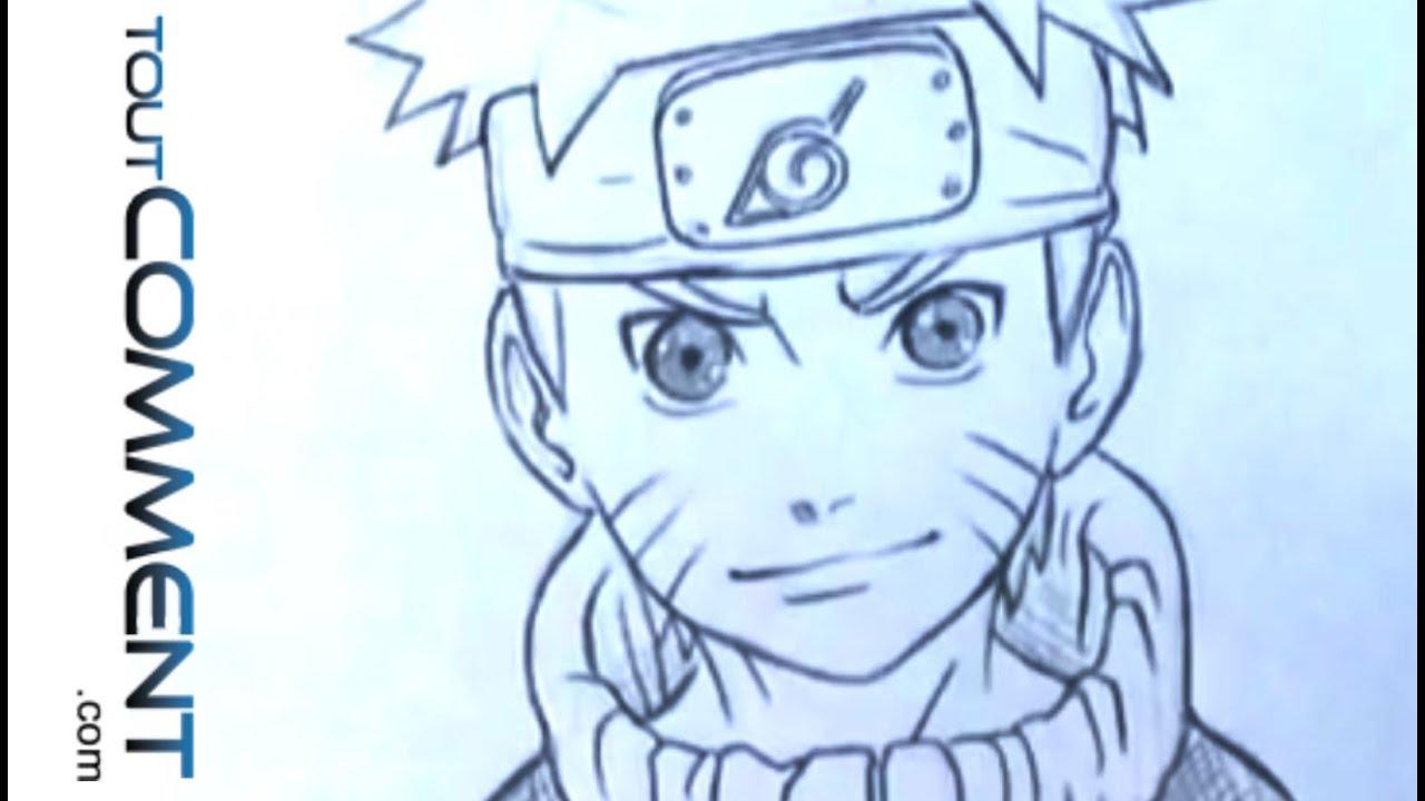 Gut bekannt Dessin de Naruto (comment dessiner un personnage de manga) - YouTube LY16