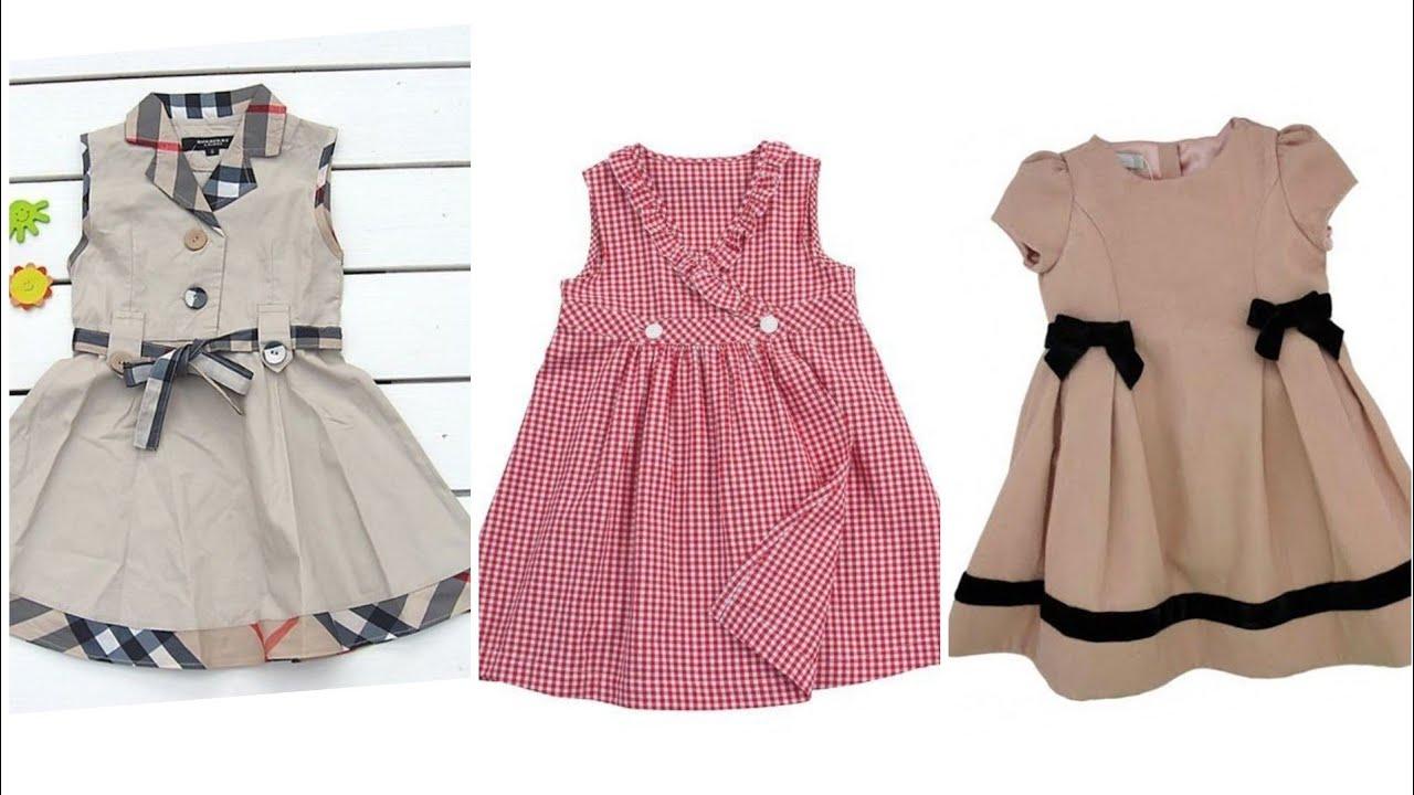 Latest trending designer baby girls dress designs