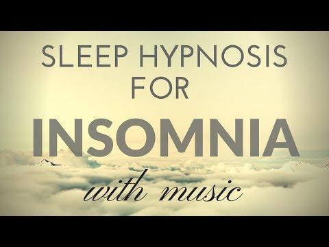 SLEEP HYPNOSIS for INSOMNIA with MUSIC & Darkened Screen for SLEEP