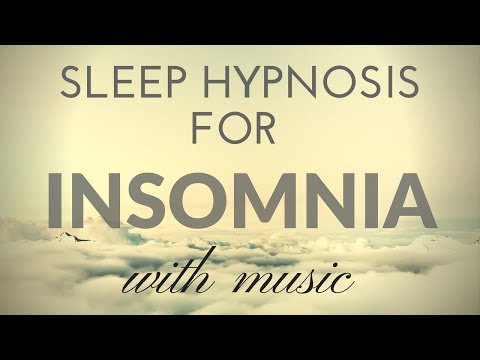 SLEEP HYPNOSIS for INSOMNIA with  & Darkened Screen for SLEEP