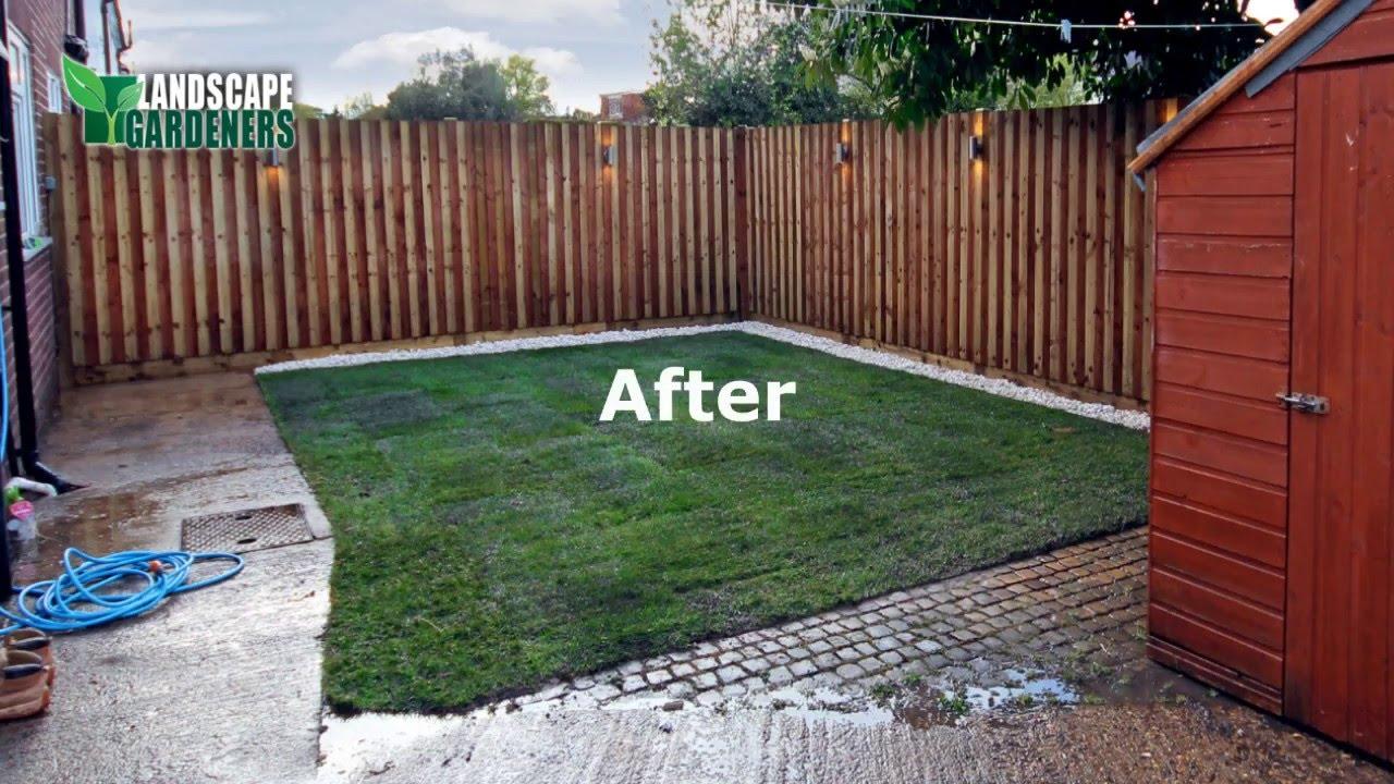 garden renovation richmond south west london youtube