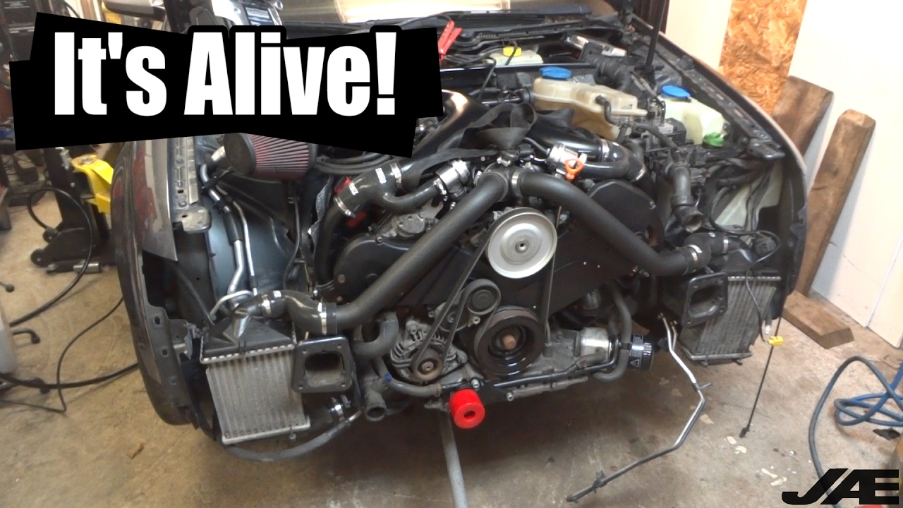 2003 audi all road engine diagram project b6 2.7t stage 3 ep9 - re-installing & starting the ...