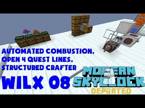 08 - Automated Combustion, Structured Crafter - Modern Skyblock 3