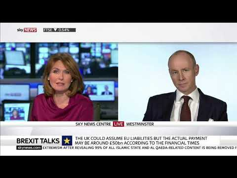 Daniel Hannan speaks to Sky News on the so-called Brexit bill