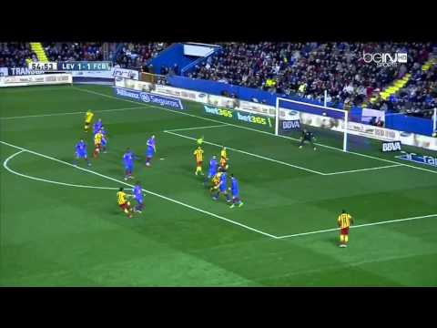 Levante - Barcelona Highlights HD 01.19.2014