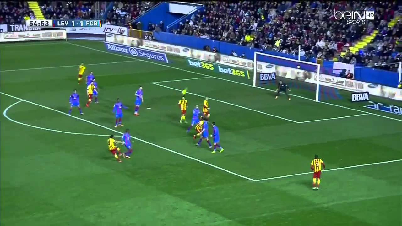 Image Result For Levante Vs Barcelona Highlights All Goals