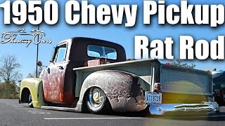 1950 Chevrolet Rat Truck! Bagged and Bodied Classic Cruiser!