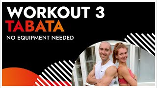 24 Minute Tabata HIIT Workout 3 | No Equipment - January Fitness Challenge | BodyByJR TV