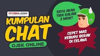 Kumpulan Chat 'Super Lucu' Driver Ojek Online dengan Klien