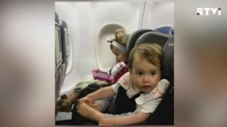 Delta извинилась за снятие c рейса семьи с двумя маленькими детьми