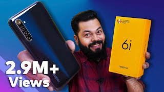 realme 6i Unboxing And First Impressions ⚡⚡⚡ 90Hz Display, 48MP Quad Cameras, 20W Charging & More