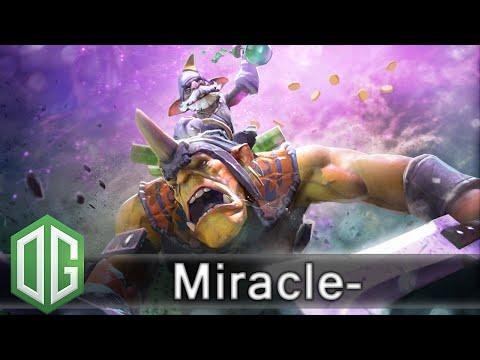 OG.Miracle- Alchemist Gameplay - Ranked Match - OG Dota 2