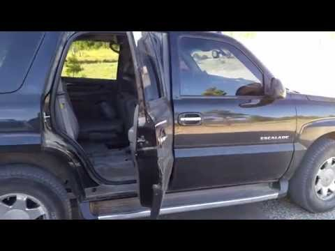 Cadillac Escalade backup reverse sensor URPA Diagnostic and Repair