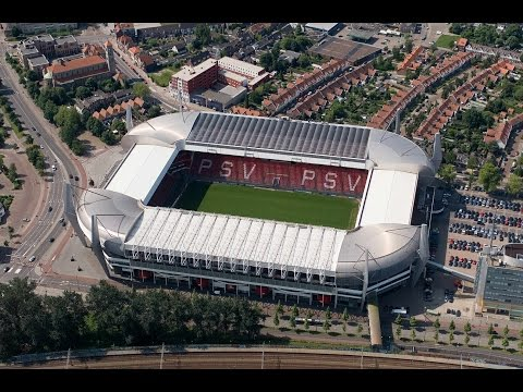 Eredivisie Stadiums 16/17