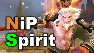 NiP vs SPIRIT - WHAT A GAME! - Overpower Cup 7.03 DOTA 2