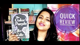 THE COLOR PURPLE by Alice Walker || Quick Book Review