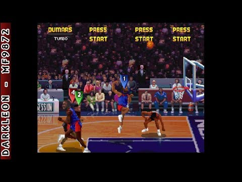 Sega Saturn - NBA Jam Tournament Edition (1995)