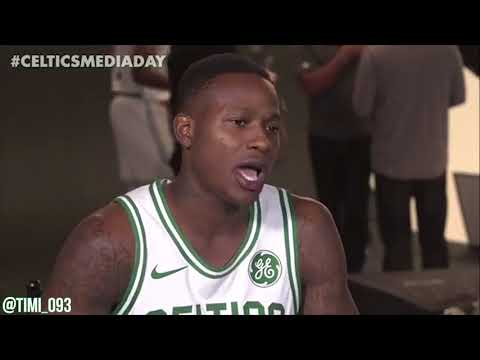 Terry Rozier FULL Media Day Interview (09/25/2017)