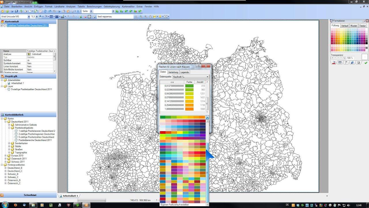 RegioGraph 2012 - Analyse: \