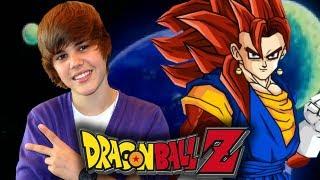 DBZ: Justin Bieber VS SSJ4 Vegito - Ultimate Tenkaichi (Live Commentary) [Custom Heroes]