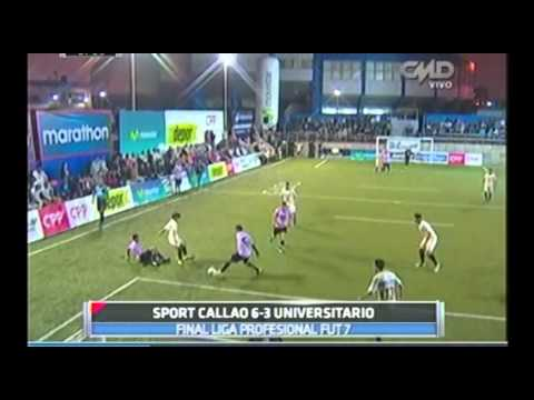Central Deportiva: Sport Callao 6-3 Universitario (Final Superliga de Fútbol 7)