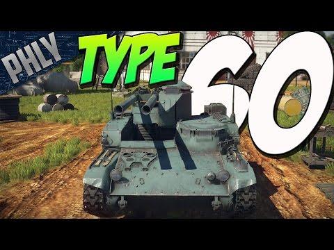 2 GUNS 1 TANK - Type 60 Recoilless GUN (War Thunder Japanese Tanks Gameplay)