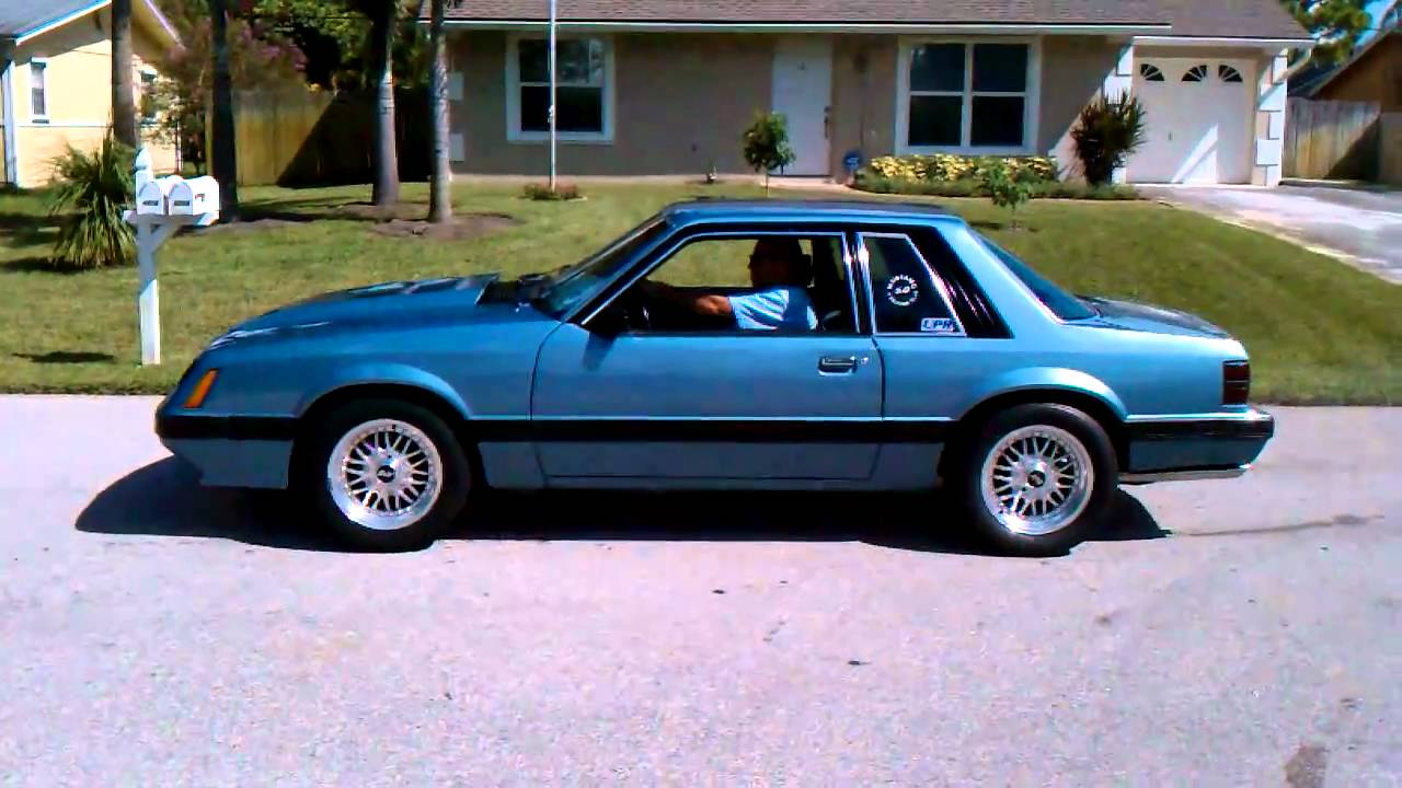 1986 lx mustang 5 0 take off youtube