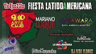 Mariano Luque y la Fiesta LatidoAmericana