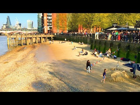 LONDON WALK | South Bank by the River Thames to Blackfriars Station | England