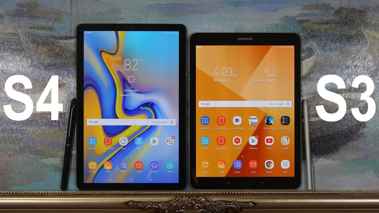 Samsung Galaxy Tab S4 vs Samsung Galaxy Tab S3: Full Comparison