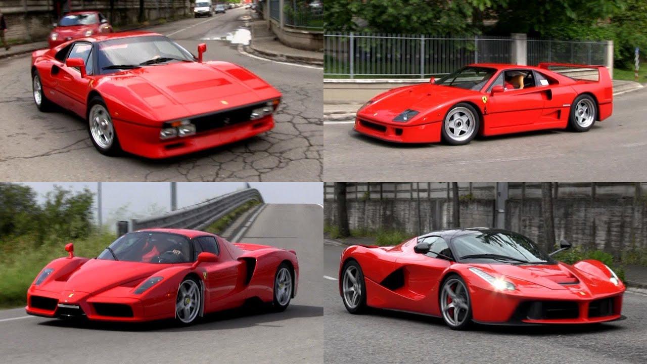 Ferrari 288 Gto F40 Enzo And Laferrari In Maranello