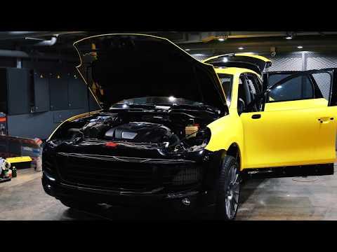 Смена цвета автомобиля