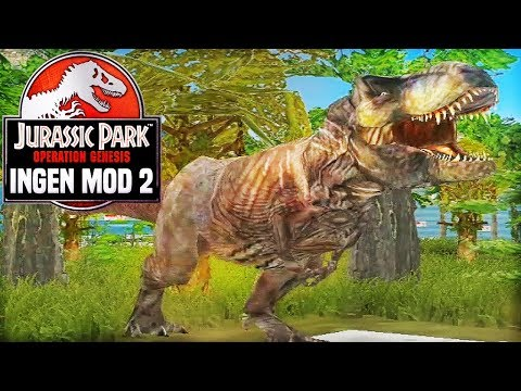 A T-REX FAMILY! MOMMA AND PAPA REX | Jurassic Park: Operation Genesis - InGen Mod 2 [#07]